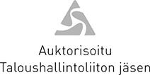 Auktorisoitu taloushallintoliiton jäsen logo